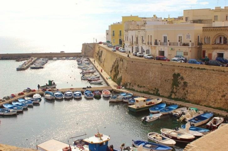 Port at Gallipoli Italy