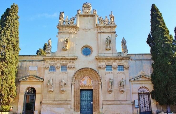 Chiesa dei SS Nicolo e Cataldo in Lecce, Italy