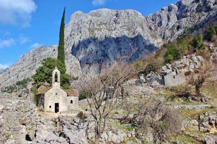 St. George's Church in Kotor, Montenegro
