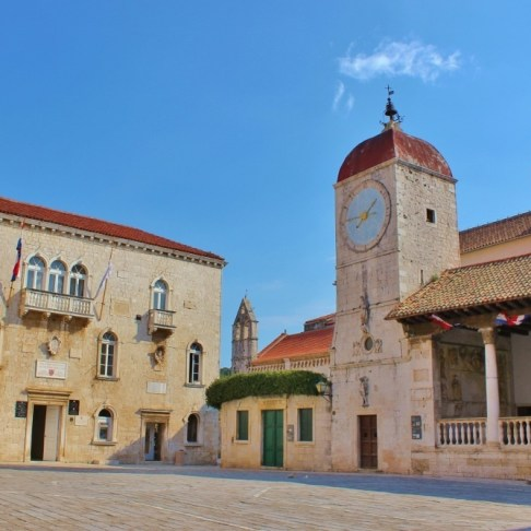 Trogir, Croatia Main Square