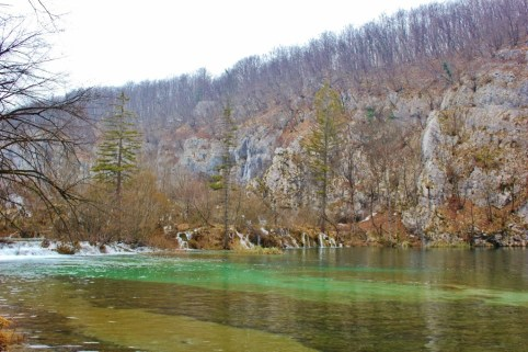 Plitvice Lakes photos: The contrasting vivid water to the stark trees and rocks