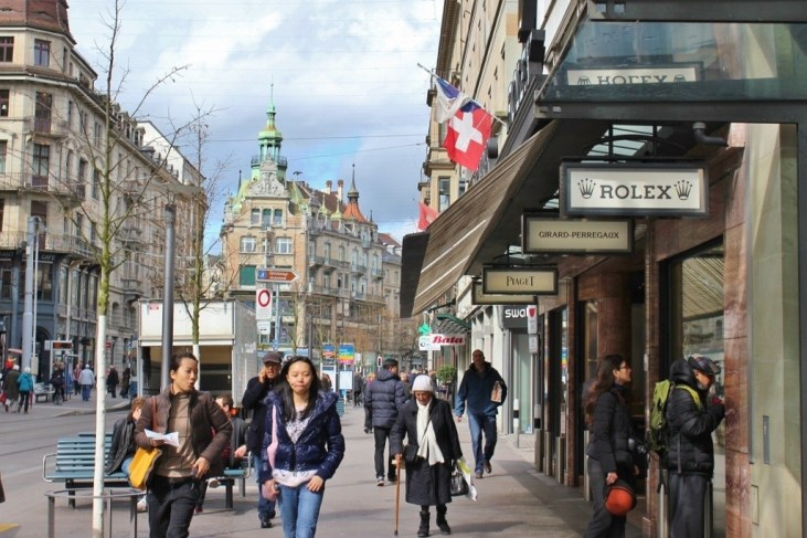 Zurich self-guided walking tour: Bahnhoffstrasse