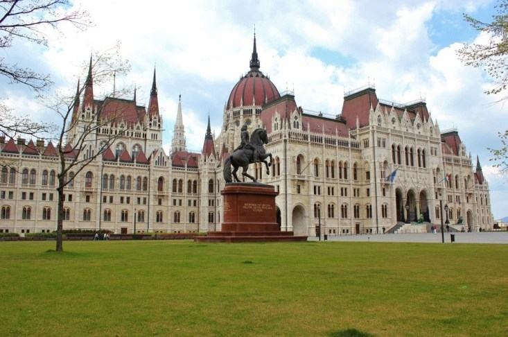 Iconic Budapest sights: Our fist look at Parliment
