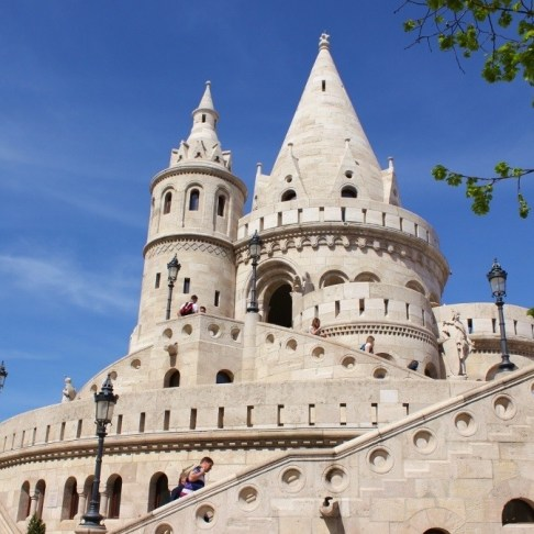 Castle Hill sights: Fisherman's Bastion