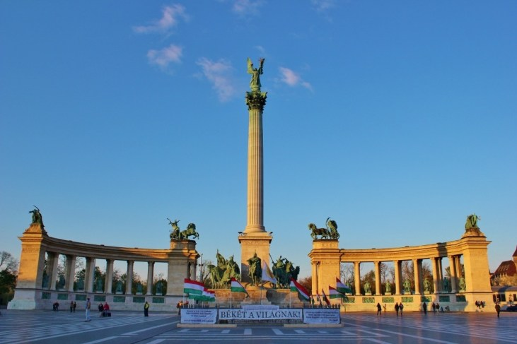 Budapest's City Park: Heroes' Square and the Millennium Monument