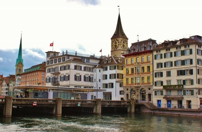 St. Peter Church and Clock, Zurich, Switzerland JetSettingFools.com
