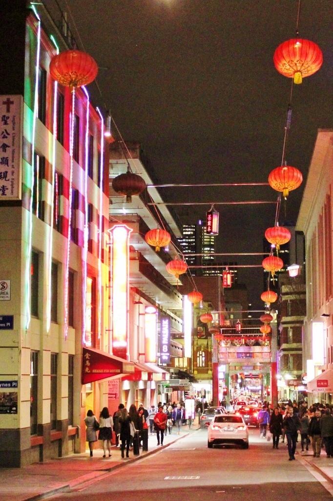 Lanterns in Chinatown, Melbourne, Australia