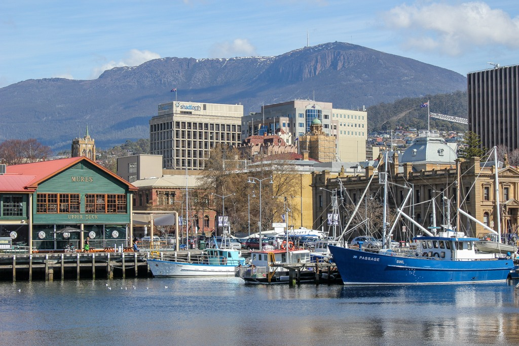 Constitution Wharf, Hobart, Tasmania, Australia