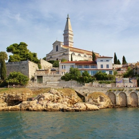 St. Euphemia Church from sea.