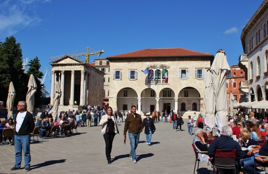 Old Town of Pula, Croatia