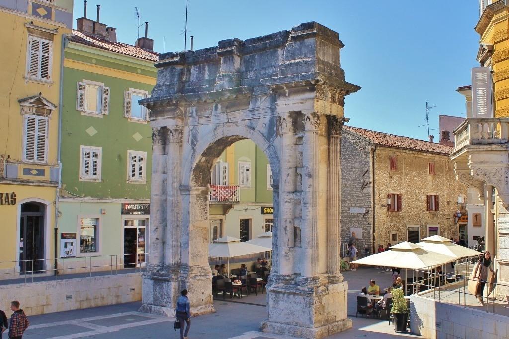 Pula, Croatia Roman Ruins