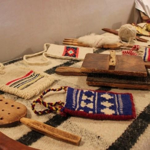 Display at Museum in Krka National Park