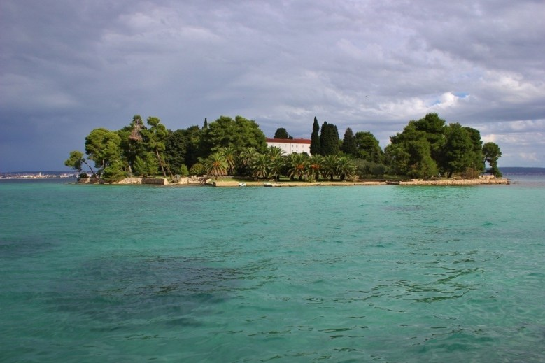 Island monastery of Franciscan Friars in Preko on Ugljan, Croatia