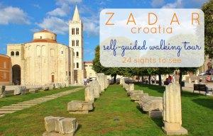 Zadar Self-Guided Walking Tour 24 Sights To See JetSettingFools.com