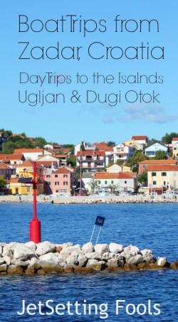 boat trip from Zadar Croatia day trip to islands Ugljan Dugi Otok JetSetting Fools