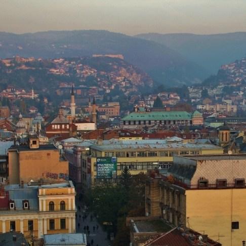 City Views in Sarajevo, BIH