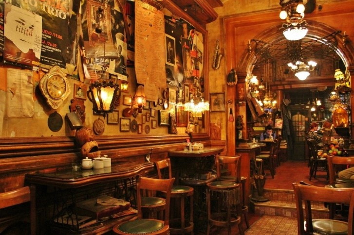 Old Town Sarajevo Gold Fish Bar