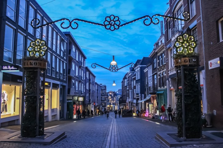 Street decorations in Nijmegen, Netherlands