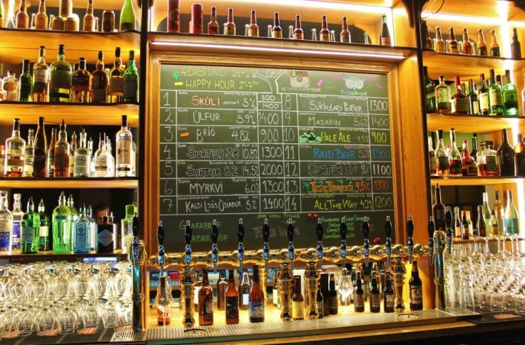 Places to drink local beer in Reykjavik Skuli Bar