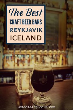 The Best Craft Beer Bars in Reykjavik Iceland by JetSettingFools.com