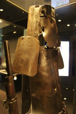 Ned Kelly body armour, Melbourne, Australia