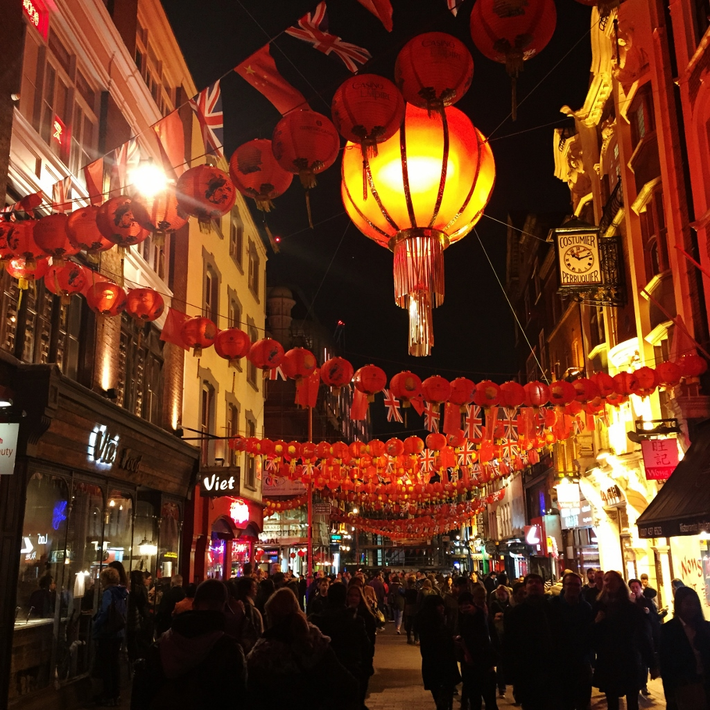 15-Day London Paris Rome Itinerary London Soho Chinatown colorful lantern