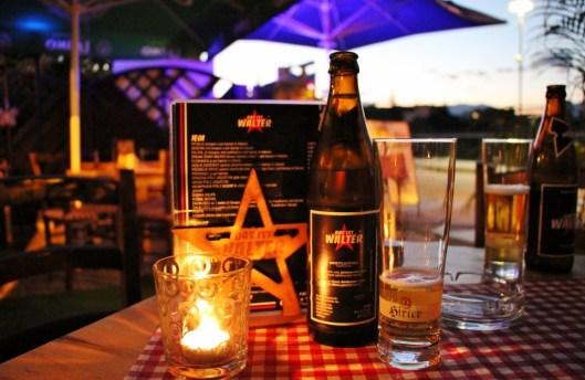 Beer at Das Ist Valter, Kranj, Slovenia