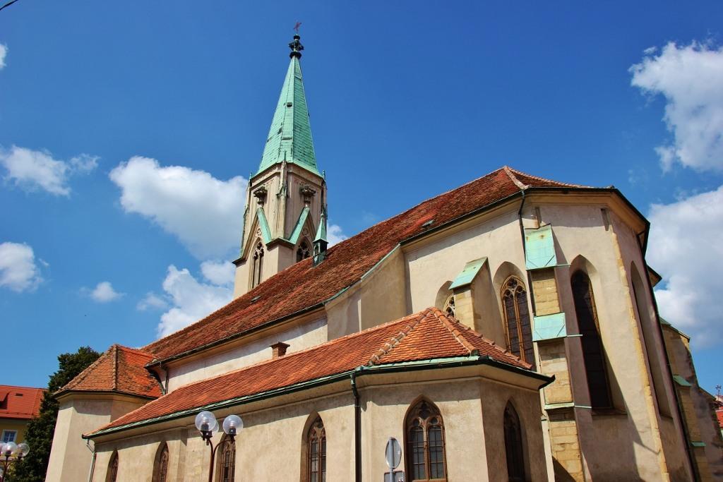 St. Daniel's Church, Celje Cathedral, Celje, Slovenia