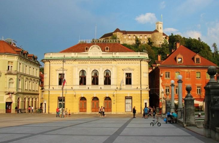 Congress Square, Ljubljana Castle, Ljubljana Slovenia