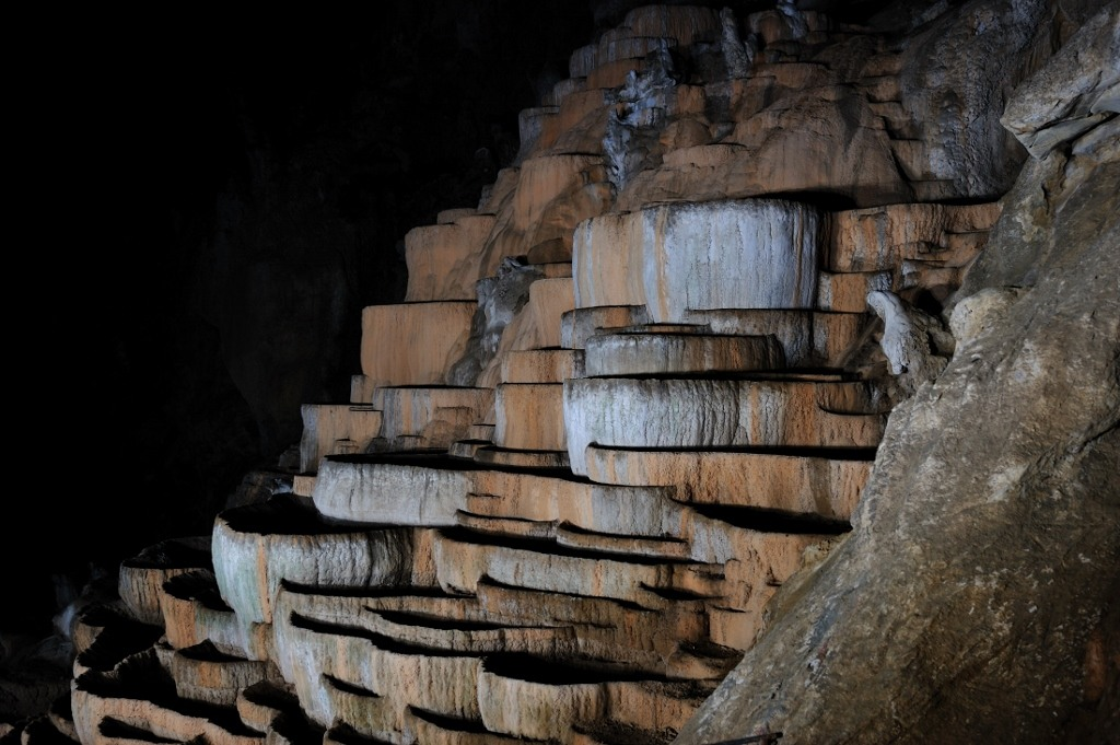 Natural Pools inside Skocjan Caves, Slovenia