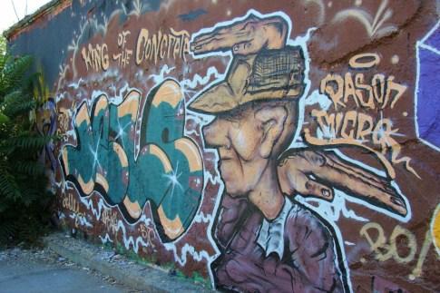 Street Art Graffiti in Ljubljana Slovenia