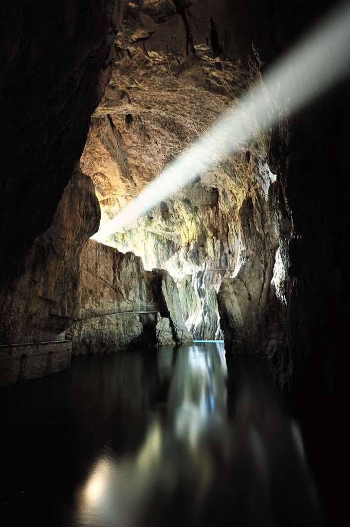 Inside Skocjan Caves, Slovenia