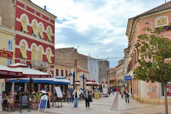 City Center, Porec, Istria, Croatia