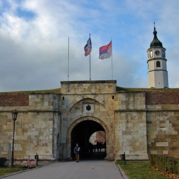Belgrade Fortress Gate and Tower, Belgrade, Serbia