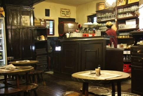 Inside cozy ? Kafana in Belgrade, Serbia