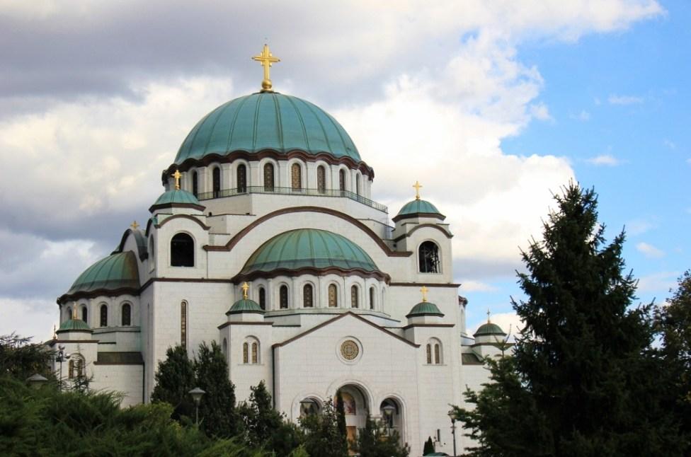 St. Sava Temple in Belgrade, Serbia