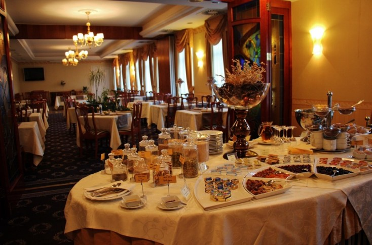 Buffet Breakfast at Hotel Waldinger in Osijek, Croatia