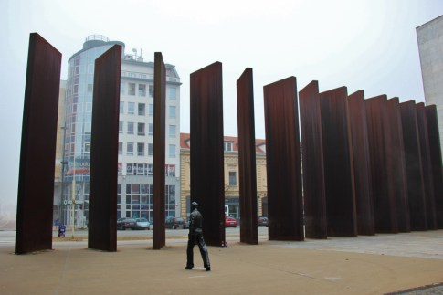 Monument to Fallen Osijek Soldiers is called The Radiator by locals