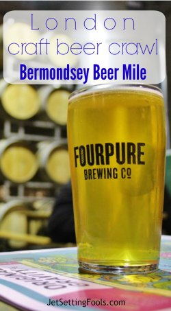 London Craft Beer Crawl Bermondsey Beer Mile JetSettingFools.com