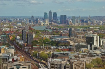 City view from the Sky Garden, London, England, jetsettingfools.com