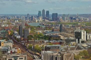 City view from the Sky Garden, London, England, jetsettingfools.com