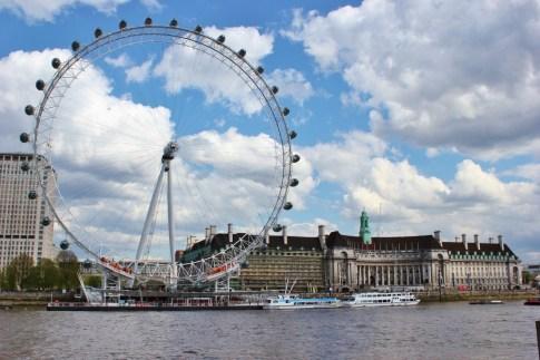 The London Eye Ferris Wheel in London, England, jetsettingfools.com