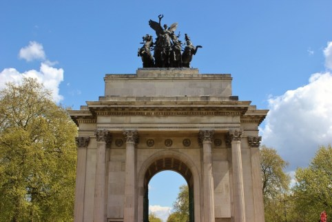 The Wellington Arch in London, England, jetsettingfools.com