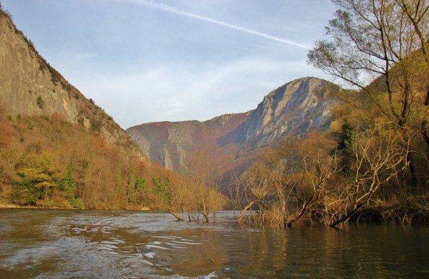 Matka Canyon in Autumn, Skopje, Macedonia