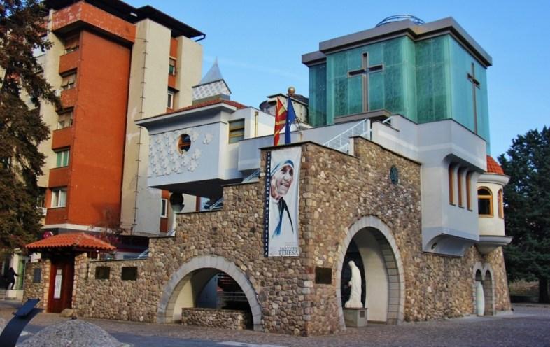 Memorial House of Mother Teresa, Skopje, Macedonia