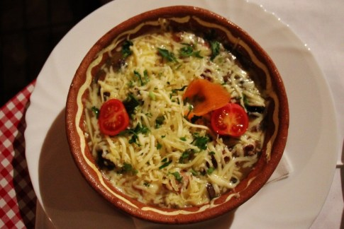 Selsko Meso stew at Gostilnica La Tana, Skopje, Macedonia