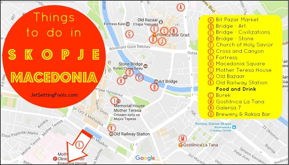 Things to do in Skopje, Macedonia