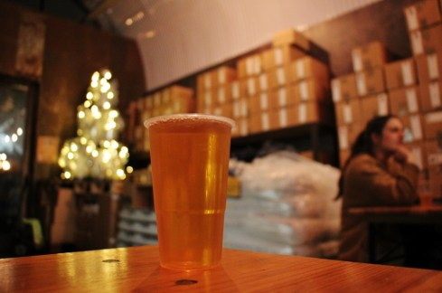 Pint of Beer at UBREW Taproom, Bermondsey Beer Mile, London Craft Beer Crawl