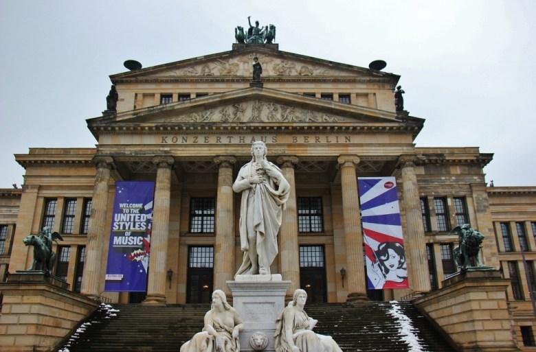 Concert Hall on Gendarmenmarkt square in Berlin, Germany
