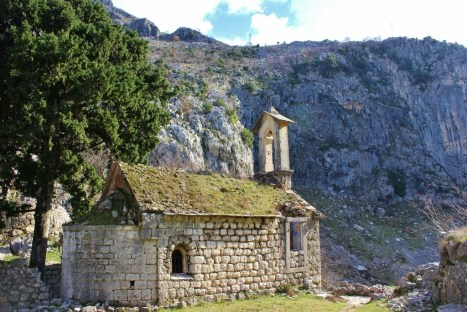 St. George's stone church in Kotor, Montenegro